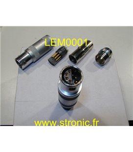 FICHE LEMO 8 BROCHES TAILLE 3 FFP.3S.308.CLAC62