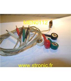 PROLONGATEUR ECG PRESSION 50 Cm