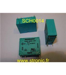 RELAIS VERTICAL  12V  DC    V23057-B0002-A401