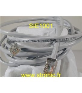 CORDON DE BRASSAGE FTP CAT: 5  100MHz RJ45 Lg 3M