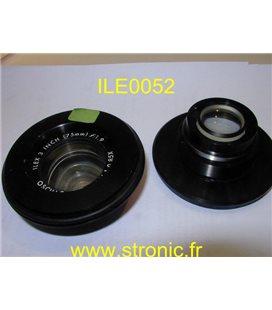 OBJECTIF ILEX 75mm OSCILLO-PARAGON f:1.9  1:0.85X