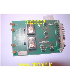 CARTE 2 COMMANDES TSIM 2090.6007.02